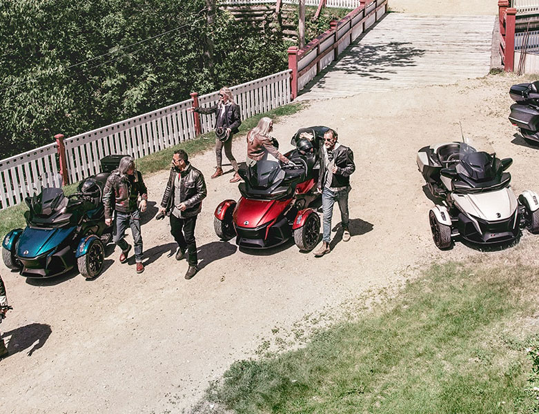 BRP社を代表するCan-Am On-Roadバイクについて